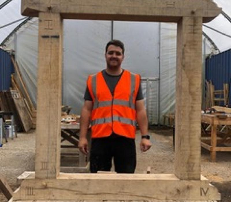 Greg Smith – Building Craft Programme student