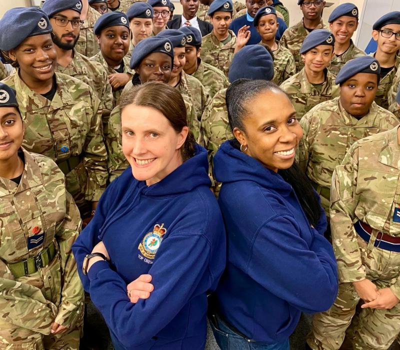 MENTORING OUR AIR CADETS