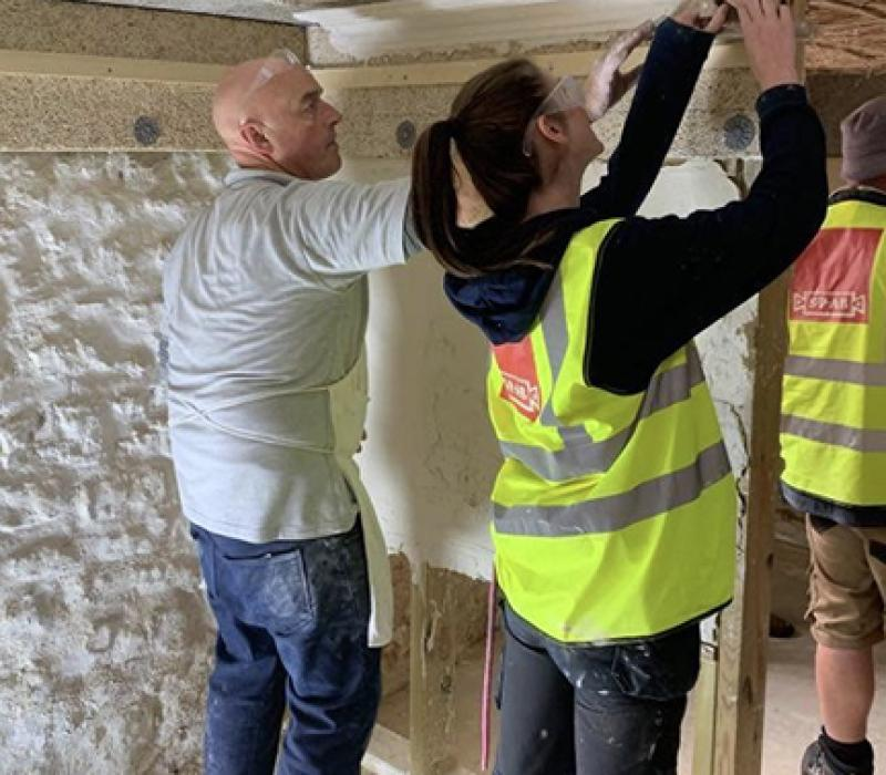 Plasterers add Lime Plastering to their Skill-Set