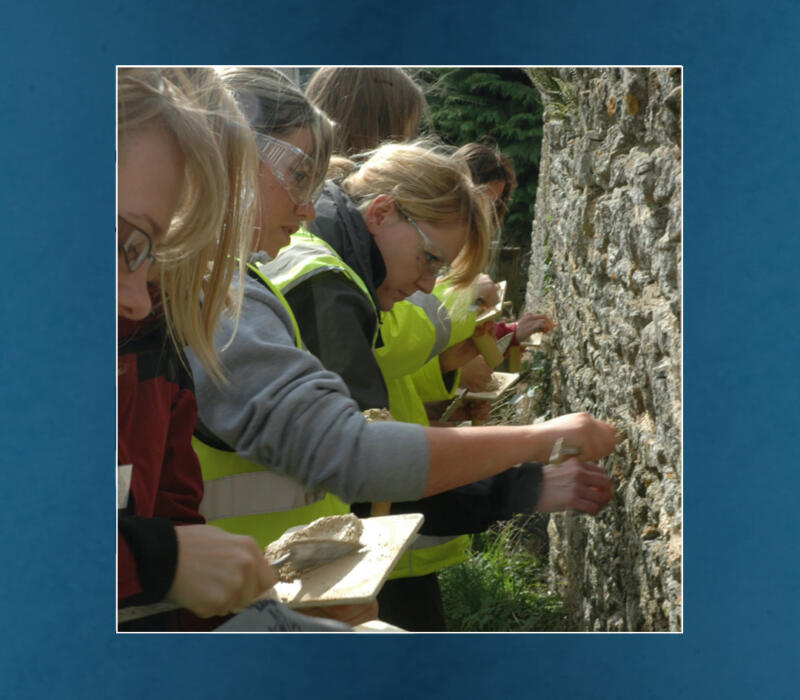 Introduction to Lime Plastering course grant