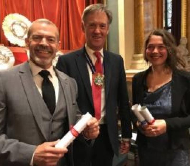 Plaisterers scoop two awards from The Georgian Group