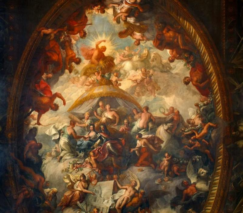 VIRTUAL TRIP – THE PAINTED HALL AT GREENWICH OLD ROYAL NAVAL COLLEGE